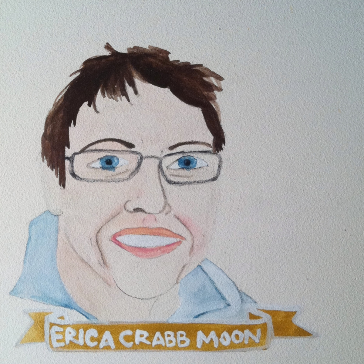 Talent Loves Company at Barbara Archer Gallery: 365 portraits by Lydia Walls - Erica Crabb Moon