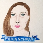 Talent Loves Company at Barbara Archer Gallery: 365 portraits by Lydia Walls - Erica Schrag