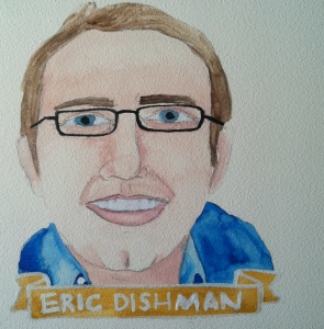 Talent Loves Company at Barbara Archer Gallery: 365 portraits by Lydia Walls - Eric Dishman