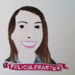 Talent Loves Company at Barbara Archer Gallery: 365 portraits by Lydia Walls - Felicia Feaster
