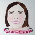 Talent Loves Company at Barbara Archer Gallery: 365 portraits by Lydia Walls - Frances Morton