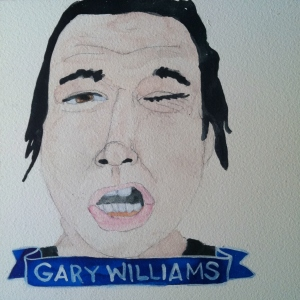 Talent Loves Company at Barbara Archer Gallery: 365 portraits by Lydia Walls - Gary Williams