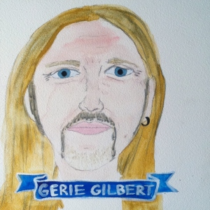 Talent Loves Company at Barbara Archer Gallery: 365 portraits by Lydia Walls - Gerie Gilbert