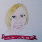 Talent Loves Company at Barbara Archer Gallery: 365 portraits by Lydia Walls - Ginny Gaulding