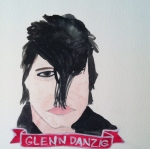 Talent Loves Company at Barbara Archer Gallery: 365 portraits by Lydia Walls - Glenn Danzig