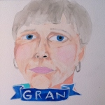 Talent Loves Company at Barbara Archer Gallery: 365 portraits by Lydia Walls - Gran