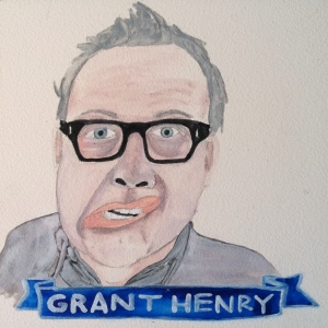 Talent Loves Company at Barbara Archer Gallery: 365 portraits by Lydia Walls - Grant Henry