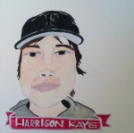 Talent Loves Company at Barbara Archer Gallery: 365 portraits by Lydia Walls - Harrison Kaye