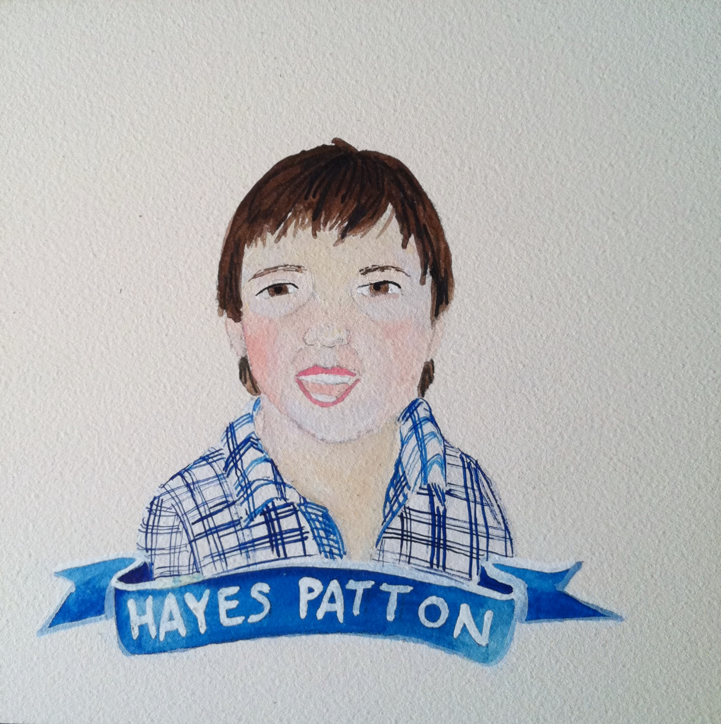 Talent Loves Company at Barbara Archer Gallery: 365 portraits by Lydia Walls - Hayes Patton