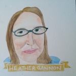 Talent Loves Company at Barbara Archer Gallery: 365 portraits by Lydia Walls - Heather Gannon