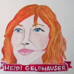 Talent Loves Company at Barbara Archer Gallery: 365 portraits by Lydia Walls - Heidi Geldhauser