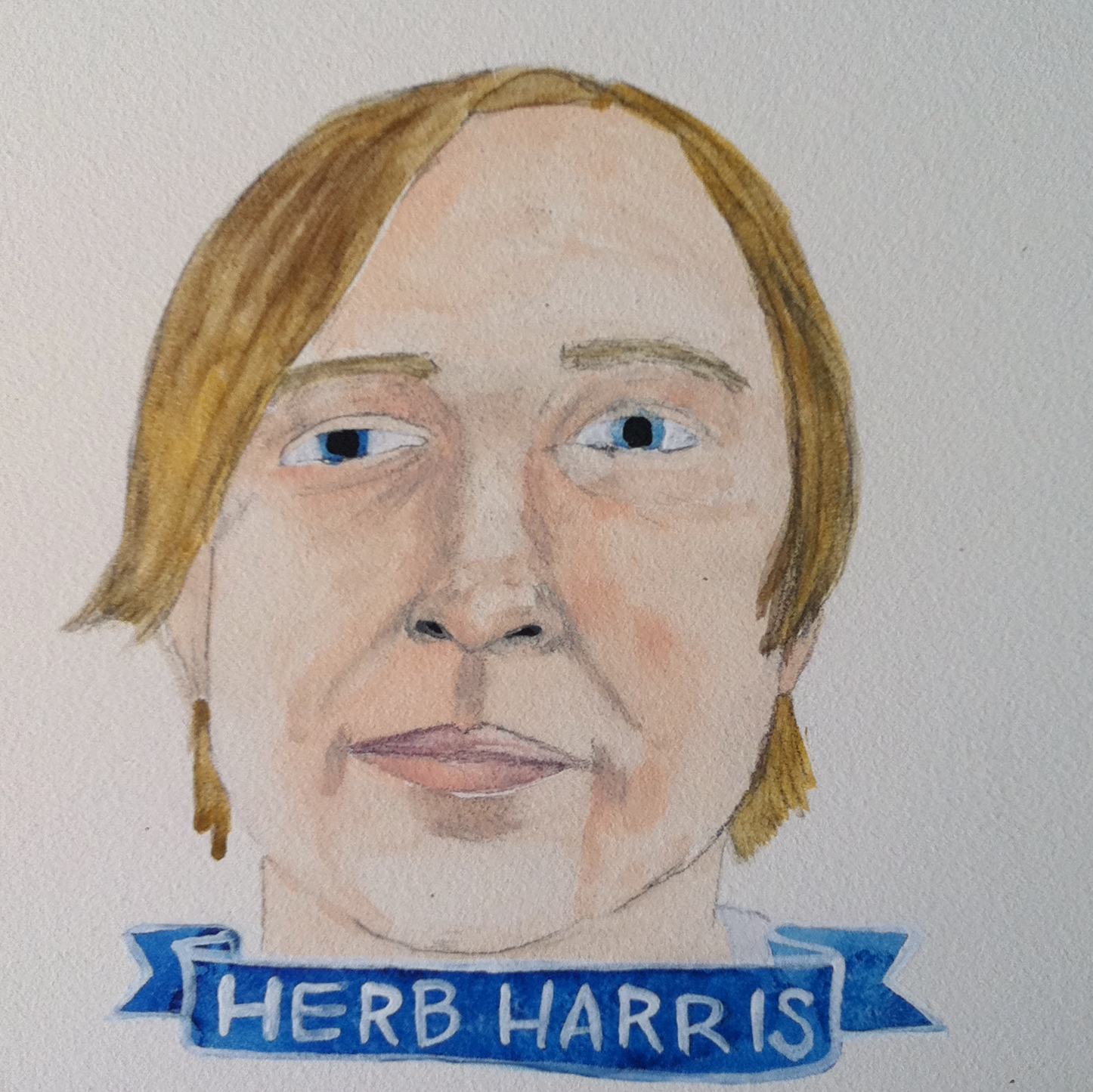 Talent Loves Company at Barbara Archer Gallery: 365 portraits by Lydia Walls - Herb Harris