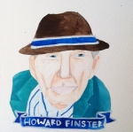 Talent Loves Company at Barbara Archer Gallery: 365 portraits by Lydia Walls - Howard Finster