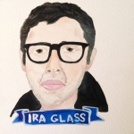 Talent Loves Company at Barbara Archer Gallery: 365 portraits by Lydia Walls - Ira Glass