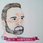 Talent Loves Company at Barbara Archer Gallery: 365 portraits by Lydia Walls - Jack Hottel