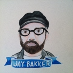 Talent Loves Company at Barbara Archer Gallery: 365 portraits by Lydia Walls - Jay Bakker