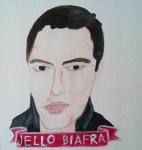 Talent Loves Company at Barbara Archer Gallery: 365 portraits by Lydia Walls - Jello Biafra