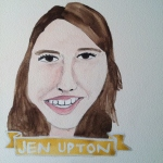 Talent Loves Company at Barbara Archer Gallery: 365 portraits by Lydia Walls - Jen Upton