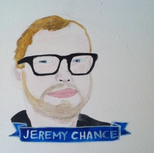Talent Loves Company at Barbara Archer Gallery: 365 portraits by Lydia Walls - Jeremy Chance