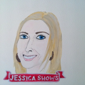 Talent Loves Company at Barbara Archer Gallery: 365 portraits by Lydia Walls - Jessica Shows