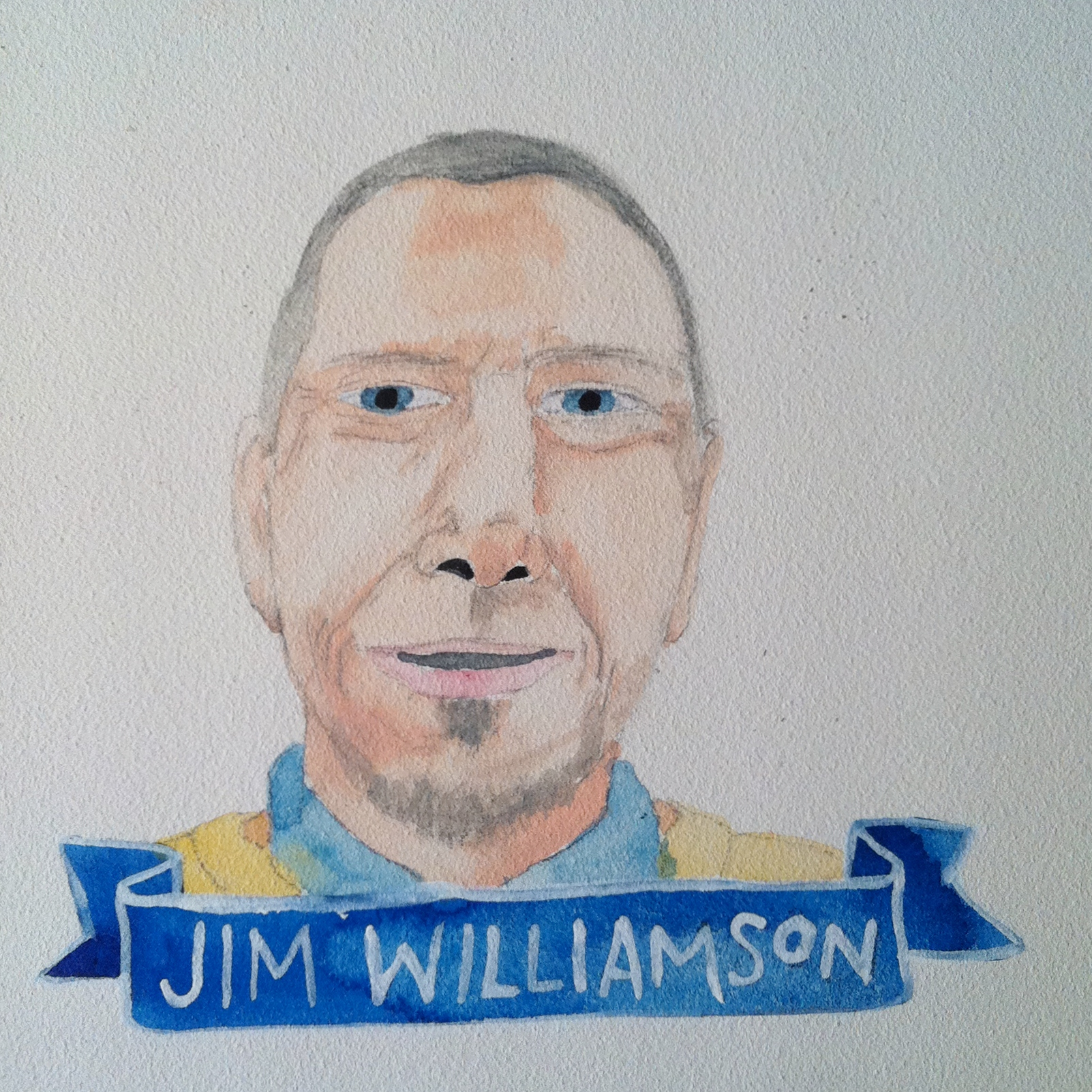 Talent Loves Company at Barbara Archer Gallery: 365 portraits by Lydia Walls - Jim Williamson