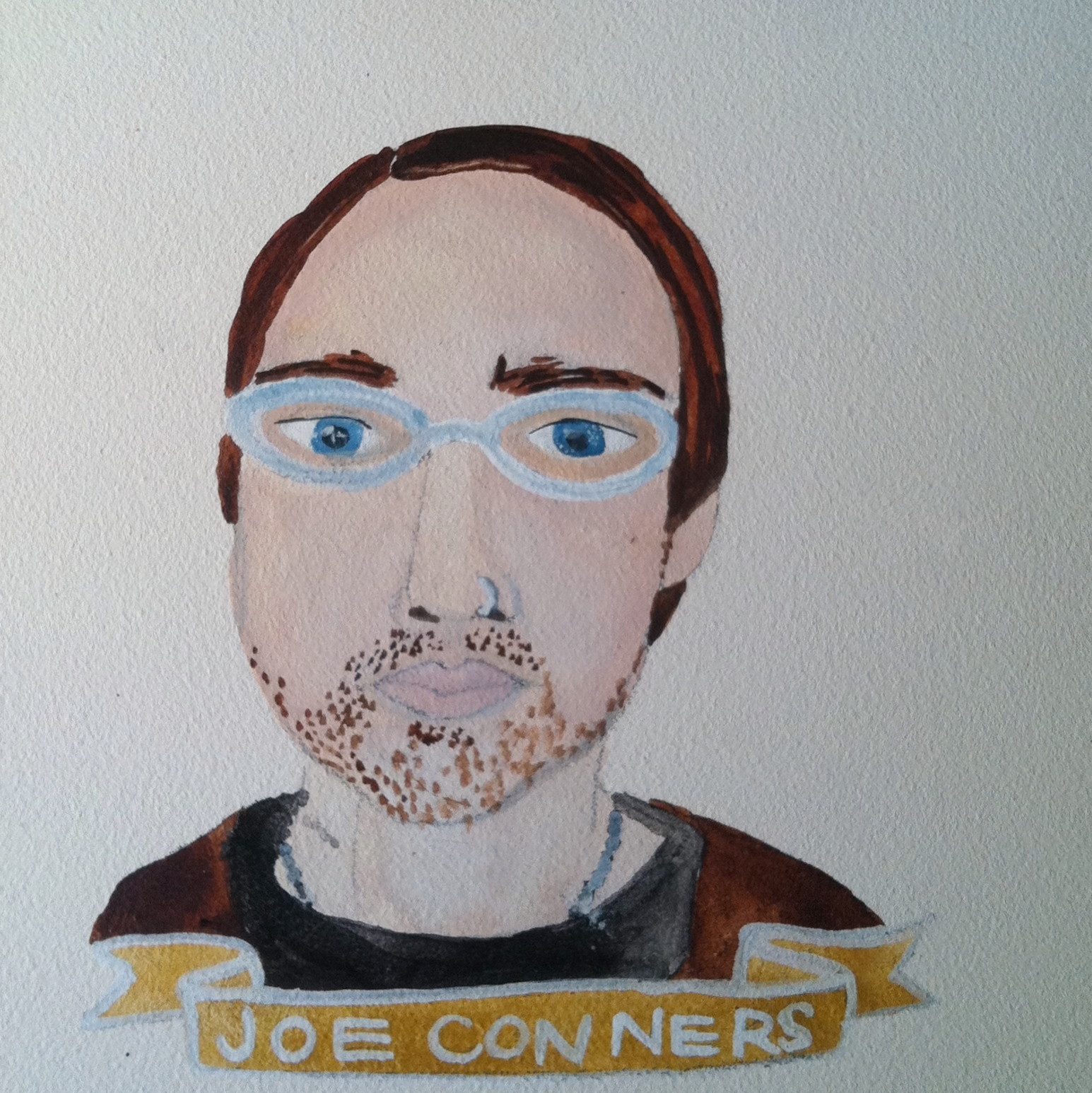 Talent Loves Company at Barbara Archer Gallery: 365 portraits by Lydia Walls - Joe Conners