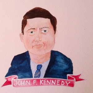 Talent Loves Company at Barbara Archer Gallery: 365 portraits by Lydia Walls - JFK
