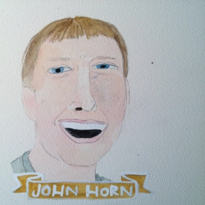 Talent Loves Company at Barbara Archer Gallery: 365 portraits by Lydia Walls - John Horn