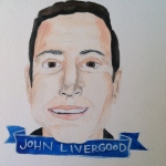 Talent Loves Company at Barbara Archer Gallery: 365 portraits by Lydia Walls - John Livergood