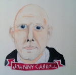 Talent Loves Company at Barbara Archer Gallery: 365 portraits by Lydia Walls - Johnny Carroll