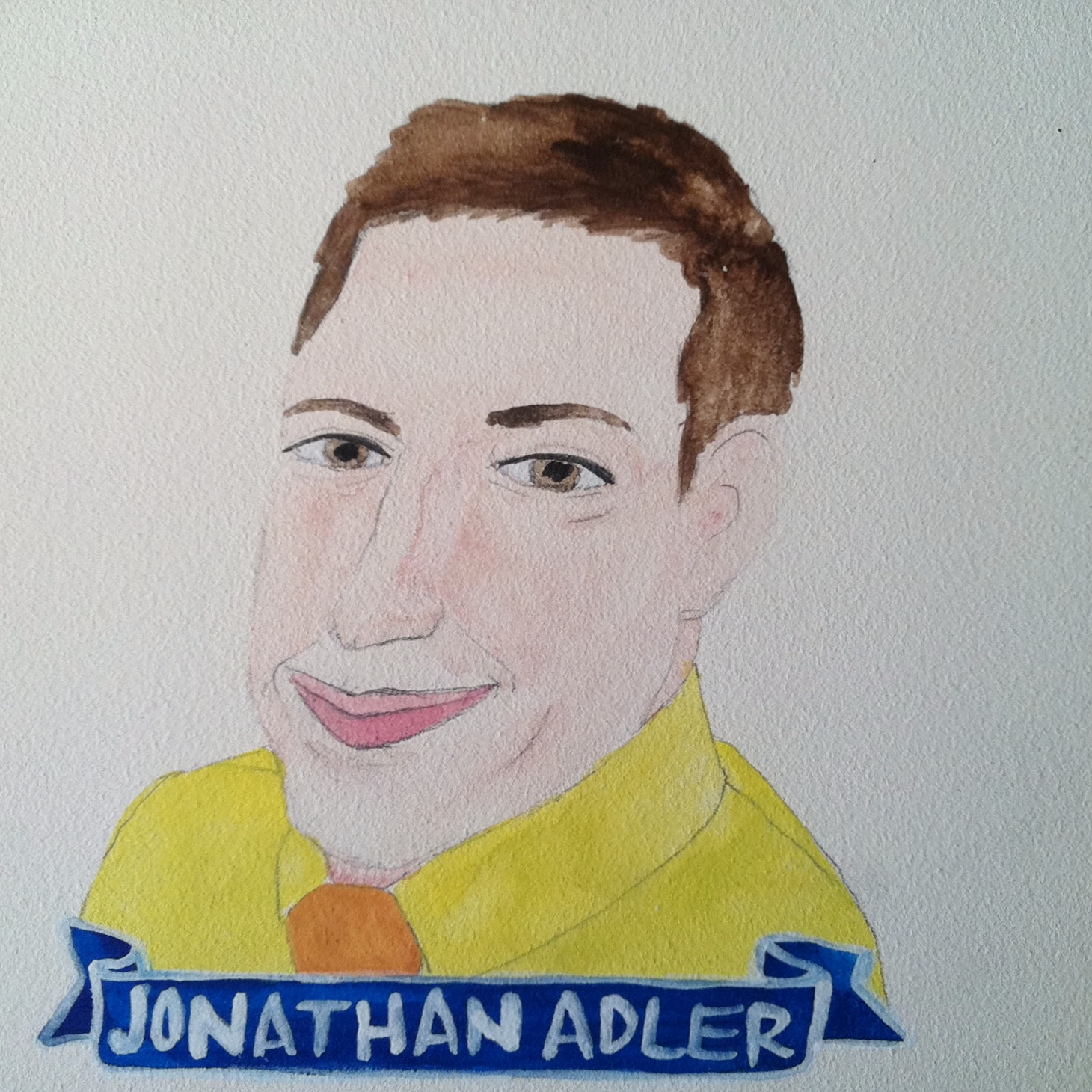 Talent Loves Company at Barbara Archer Gallery: 365 portraits by Lydia Walls - Jonathan Adler