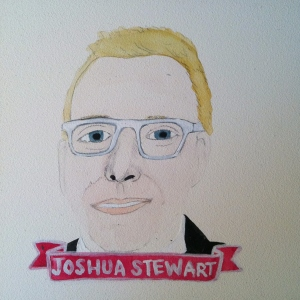 Talent Loves Company at Barbara Archer Gallery: 365 portraits by Lydia Walls - Joshua Stewart