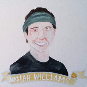 Talent Loves Company at Barbara Archer Gallery: 365 portraits by Lydia Walls - Josiah Williams