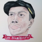 Talent Loves Company at Barbara Archer Gallery: 365 portraits by Lydia Walls - Joy Phrasavath