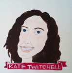 Talent Loves Company at Barbara Archer Gallery: 365 portraits by Lydia Walls - Kate Twitchell