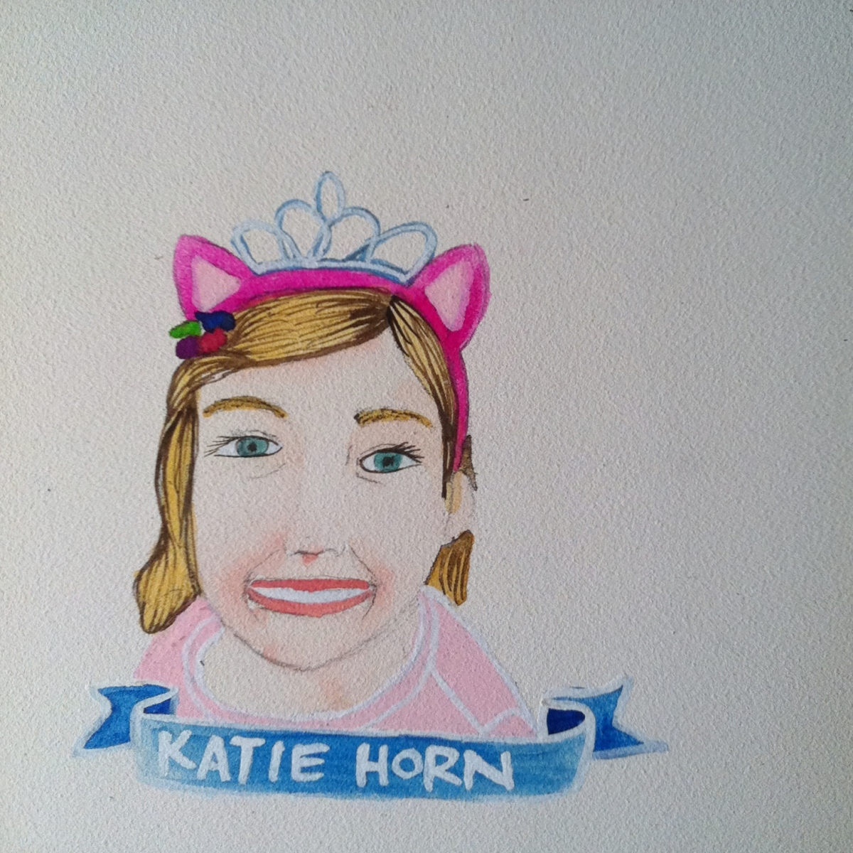 Talent Loves Company at Barbara Archer Gallery: 365 portraits by Lydia Walls - Katie Horn