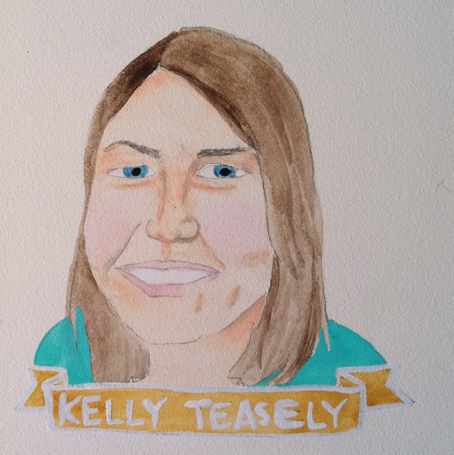 Talent Loves Company at Barbara Archer Gallery: 365 portraits by Lydia Walls - Kelly Teasely