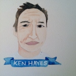 Talent Loves Company at Barbara Archer Gallery: 365 portraits by Lydia Walls - Ken Hayes
