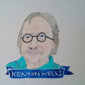 Talent Loves Company at Barbara Archer Gallery: 365 portraits by Lydia Walls - Kenyon Wells