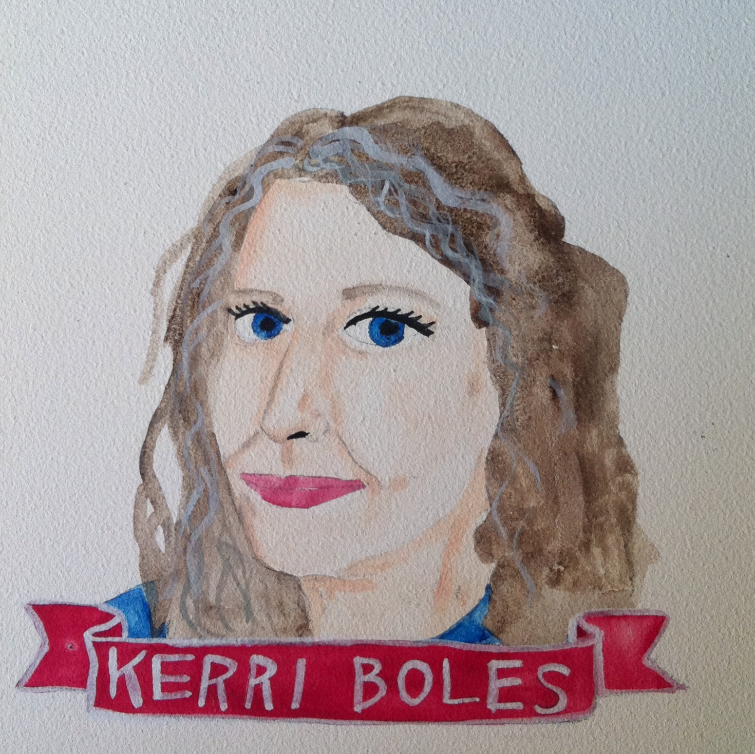 Talent Loves Company at Barbara Archer Gallery: 365 portraits by Lydia Walls - Kerri Boles