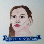 Talent Loves Company at Barbara Archer Gallery: 365 portraits by Lydia Walls - Kristen OHagan