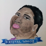 Talent Loves Company at Barbara Archer Gallery: 365 portraits by Lydia Walls - Kystal Woods