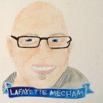 Talent Loves Company at Barbara Archer Gallery: 365 portraits by Lydia Walls - Lafayette Mecham