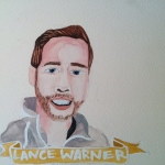 Talent Loves Company at Barbara Archer Gallery: 365 portraits by Lydia Walls - Lance Warner