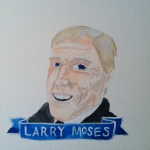 Talent Loves Company at Barbara Archer Gallery: 365 portraits by Lydia Walls - Larry Moses