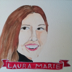 Talent Loves Company at Barbara Archer Gallery: 365 portraits by Lydia Walls - Laura Marie