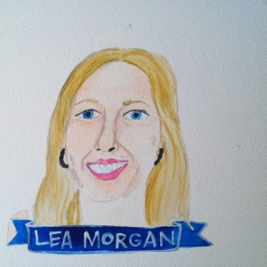 Talent Loves Company at Barbara Archer Gallery: 365 portraits by Lydia Walls - Lea Morgan