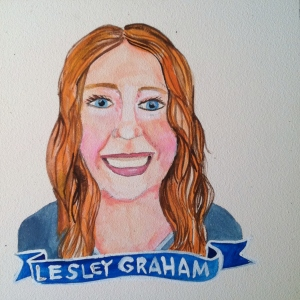 Talent Loves Company at Barbara Archer Gallery: 365 portraits by Lydia Walls - Lesley W Graham