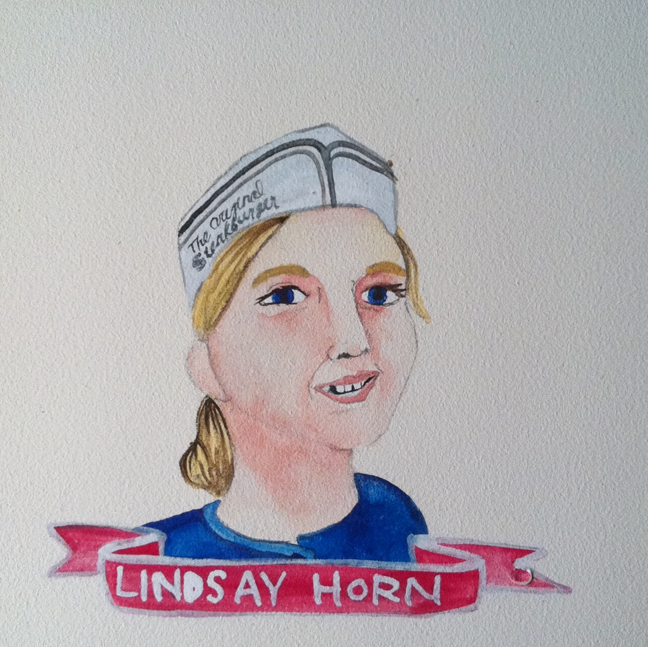 Talent Loves Company at Barbara Archer Gallery: 365 portraits by Lydia Walls - Lindsay Horn