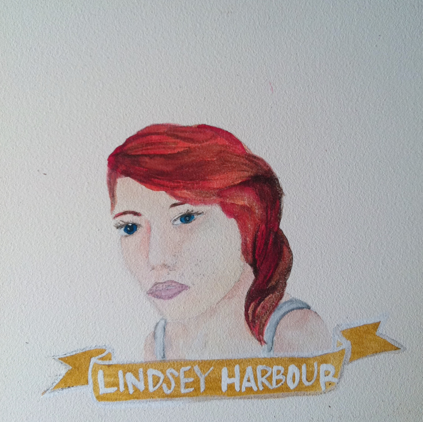 Talent Loves Company at Barbara Archer Gallery: 365 portraits by Lydia Walls - Lindsey Harbour